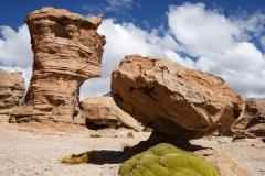 Rocks, mosses and sky