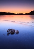 Loch Droma blue sunrise