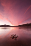 Loch Droma red sunrise