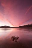 Loch Droma red sunrise