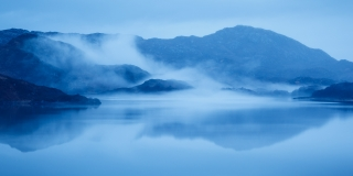 Loch Assynt mist