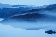 Loch Assynt mist layers