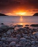 Sunset boulders