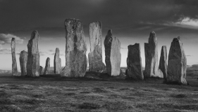Callanish Stone Circle (B&W)