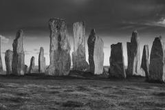 Callanish Stone Circle (B&W)