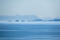 Distant seascape