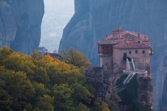 Monastery and autumn colour