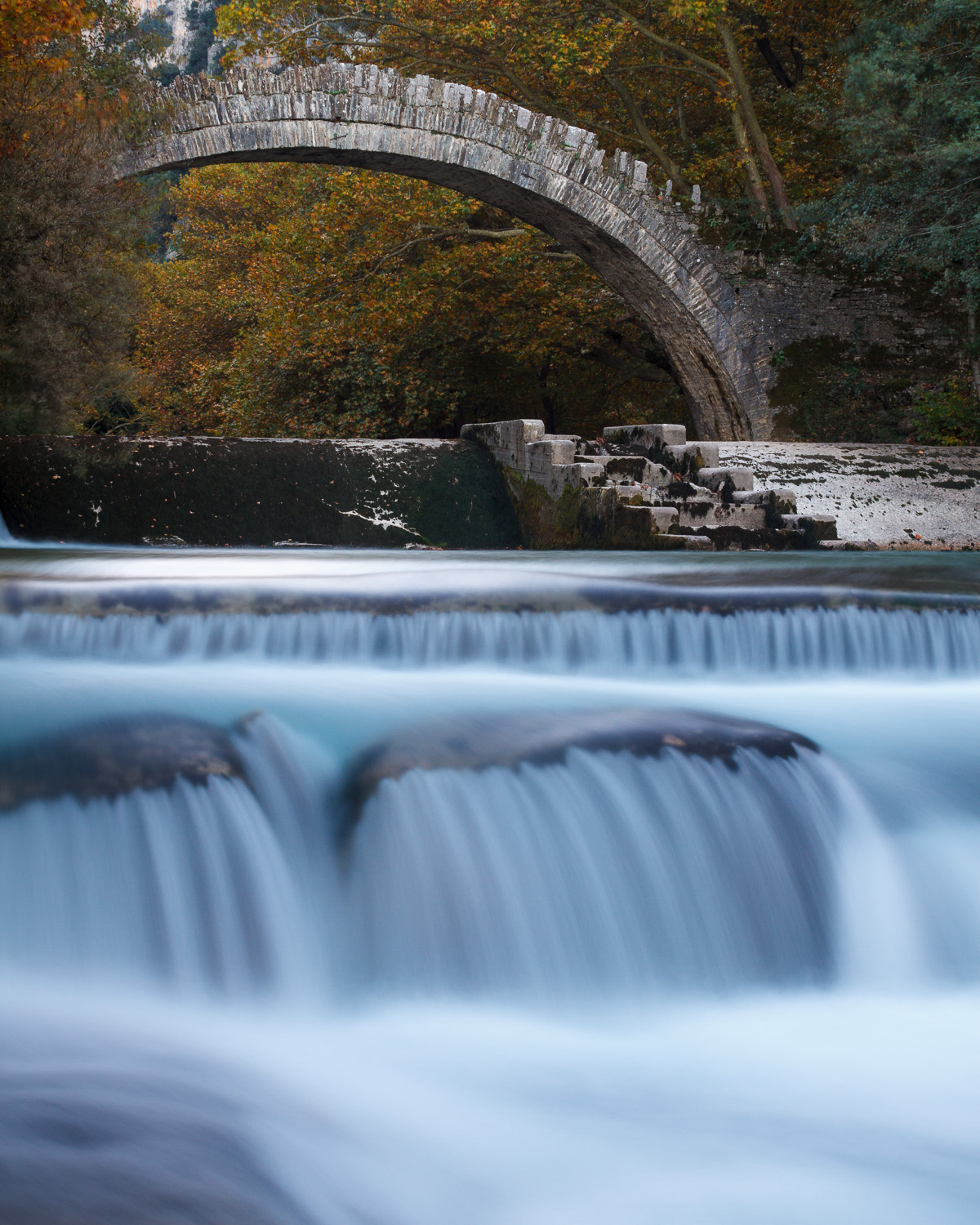 Arches of water and stone