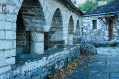 Mikro Papigo church cloisters