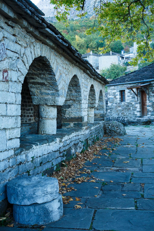 Mikro Papigo church cloisters