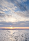 Findhorn Beach sunset