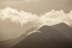 Cuillin in cloud detail