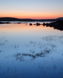 Sunrise at an isolated lochan