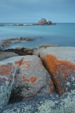 Picnic Rocks after sunset