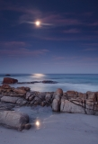 Moonlight on Friendly Beaches, Freycinet