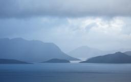 Lake Pedder from Scott's Peak