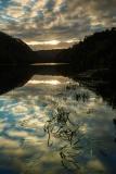 Sunset along the Pieman River at Corinna