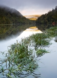Sunrise along the Pieman River at Corinna