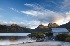Cradle Mountain boathouse