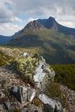 Cradel Mountain from the summit of Hanson's Peak