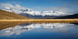 Los Cuernos del Paine panorama