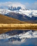 Los Cuernos del Paine reflection