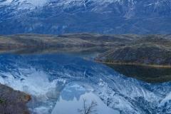 Reflections of El Macizo Azul