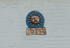 Detail of plaque
