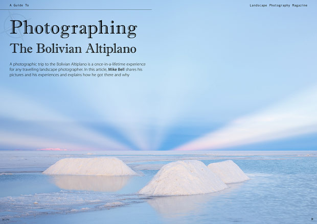 Bolivian Altiplano article